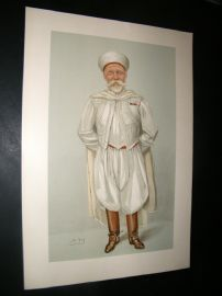 Vanity Fair Print 1904 Harry Aubrey Kaid De MaClean, Proof
